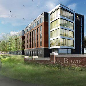 ELLC Building Exterior 3D Rendering